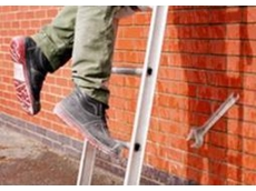Anti-slip ladder rungs