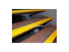 Grip Guard carborundum stair nosings