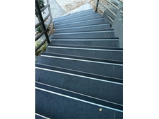 It is also essential that stair nosings contrast with the colour of the stairs