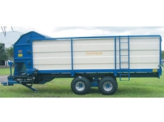 Silage feedout wagon