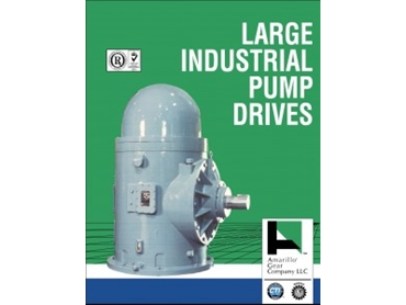 Large Industrial Pump Drives