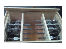 Chemical injection assemblies for desalination plant
