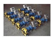 PeriFlo's peristaltic pumps feature reversible rotation.