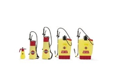 HARDI range of sprayers including hand held sprayers