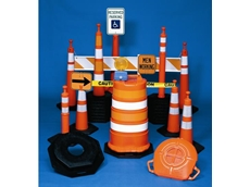 Road safety products made using GEC blow moulders