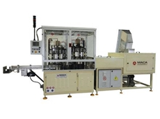 RRM10 aluminium cap redrawing machines have an output speed of 36,000 caps per hour