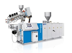 Krauss Maffei has installed three production lines with co-extruder combinations for WPC processing