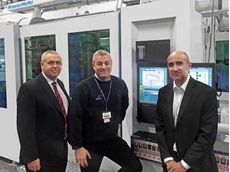 Krauss Maffei recently installed an MX 1300 injection moulding machine for Sanko Gosei in Lancashire, UK