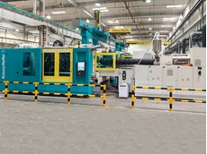 Four large Krauss Maffei MX Series injection moulding machines have been supplied to BSH in China