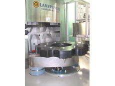 Lanfranchi bottle unscramblers reduce changeover time.