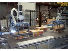 OCME's Pegasus robotic palletiser