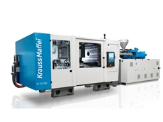 Krauss Maffei's GX Series injection moulding machine