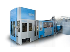 SIPA's New SFR 6 EVO Rotary PET Blow Moulder