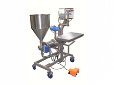 Pouch Opening Filling Machine