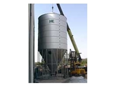 60º Galvanised Steel Mash Silos from HE Silos