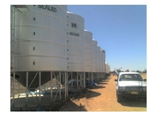 Sealed and Standard Grain Silos by HE Silos