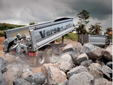 Hamelex White's revolutionary VersaBOLT range is initially available in high tensile steel rigid, three and four axle dog configurations