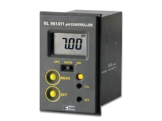 BL 981411 pH controller has been designed for easy, affordable installation in tight spaces, ideal for simple yet effective process control.