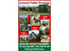 Hatzenbichler Livestock Fodder Processors Reduce Wastage
