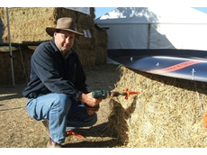 Phil Snowden, inventor of Hay Cap hay covers