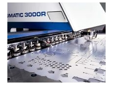 Punching, bending, forming, tapping, contour cutting, and engraving, in one machine.