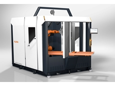 KUKA flexibleCUBE welding cell