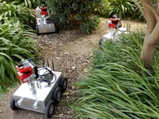 Unmanned Ground Vehicles developed for the MAGIC 2010 Project