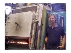 MD Norm Tucker says the new $1 million sealed quench furnace adds a new dimension.