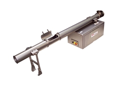 Conveyor with a tubular pan from Heat and Control