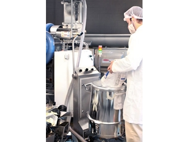 FastBack® Powder on Demand seasoning, powders and granule product transfer