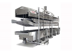 MasterTherm thermal fluid heated fryers produce unformly heated cooking oil