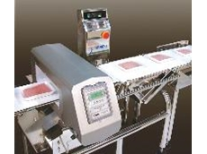 Integrated Ceia metal detector and Ishida checkweigher
