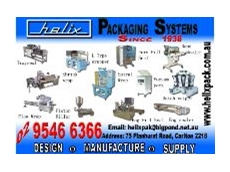 Helix Packaging to show at Auspack