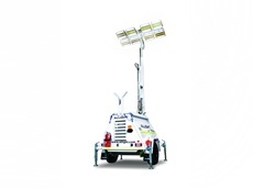 HypaLUME is the LED light of choice for Minespec mobile lighting towers