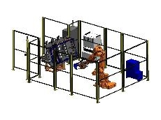 Robotic assembly cell