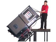 The Step Rider can lift up to 1500kg.