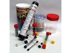 The clear PETG heavy wall plastic tube material for packaging products