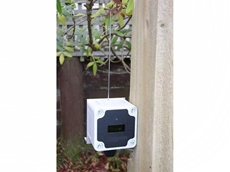 The solar powered point to point photoelectric sensors can be set up to 40m apart