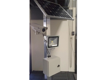 Solar Cam CCTV Housing Option 3