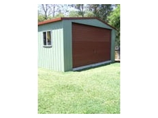The Shed Cam is a portable alarm system with surveillance camera designed to protect sheds housing valuable equipment