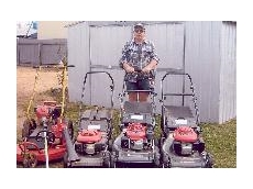 Honda classic lawnmowers and blowers