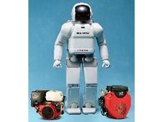 Honda's humanoid robot Asimo.