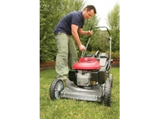 Honda Power Equipment's four stroke Buffalo lawnmower