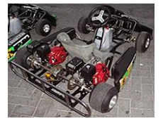 Honda-powered race karts