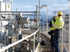 HPS gas measurement equipment and software will be used to measure flow and pressure in the LNG pipeline.