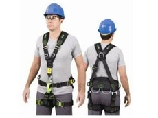 The Miller AMAX.2 full body work positioning harness