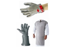Chainex gloves and apron