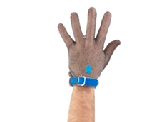 Chainextra stainless steel metal mesh safety gloves