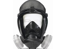 The Survivair Opti-Fit APR full facepiece respirator