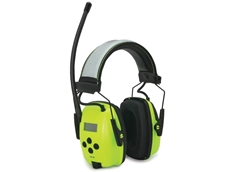 High Visibility AM FM Radio Earmuff with Digital Tuning